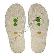 Резиновая подошва/след для обуви BISSELL, т.3,65 мм, art.111, цв. белый