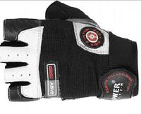 Перчатки для тяжелой атлетики Power System с контролем воздуха и влажности