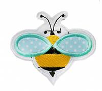 Аппликация клеевая пчелка