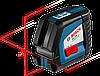 Нивелир лазерный Bosch GLL 2-50 + вкладка под L-Boxx 0601063104