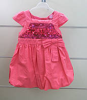 Нарядное платье для маленькой девочки. Размер 68.