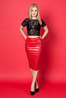 Женский костюм юбка+гипюровая кофточка, р-ры 42,44,46,48