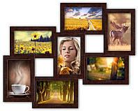 Фотоколлаж на 7 фото 7 чудес, венге