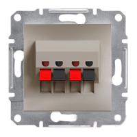 Розетка Schneider-Electric Asfora Plus аудио двойная бронза. EPH5700169