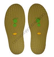 Резиновая подошва/след для обуви BISSELL, т.3,65 мм, art.111, цв. хаки