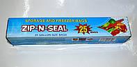 Пакеты zip lock для заморозки и хранения 16.5 x 22.5 см / (уп-25 шт)   , фото 1