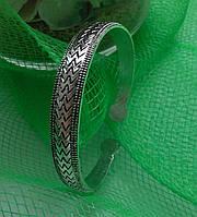 Браслет винтажный узкий, тибетское серебро