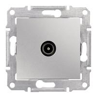 Розетка Schneider-Electric Sedna TV коннектор оконечный алюминий. SDN3201660