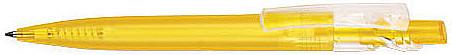Ручка пластиковая VIVA PENS Maxx Bright желтая