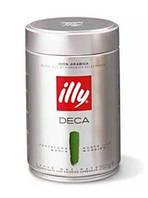 Кофе ILLY Caffe Decaffeinato, 100% Арабика, молотый 250g