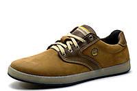 Туфли спортивные мужские TEENAGER Navy, натуральная кожа, оливковые,  р. 40