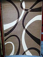 Рельефный ворсовый ковер Legenda 0553 бежевый