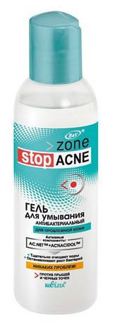 Zone stop ACNE Гель для умывания антибактериальный 150 мл.
