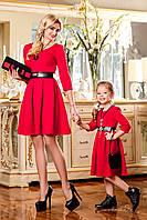 Детское элегантное платье с пышной юбкой