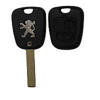 Корпус ключа Peugeot 307 406 Partner 206 с лезвием HU83 и VA2