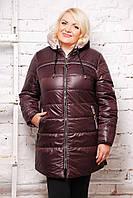 Куртка женская на весну большие размеры   S 516