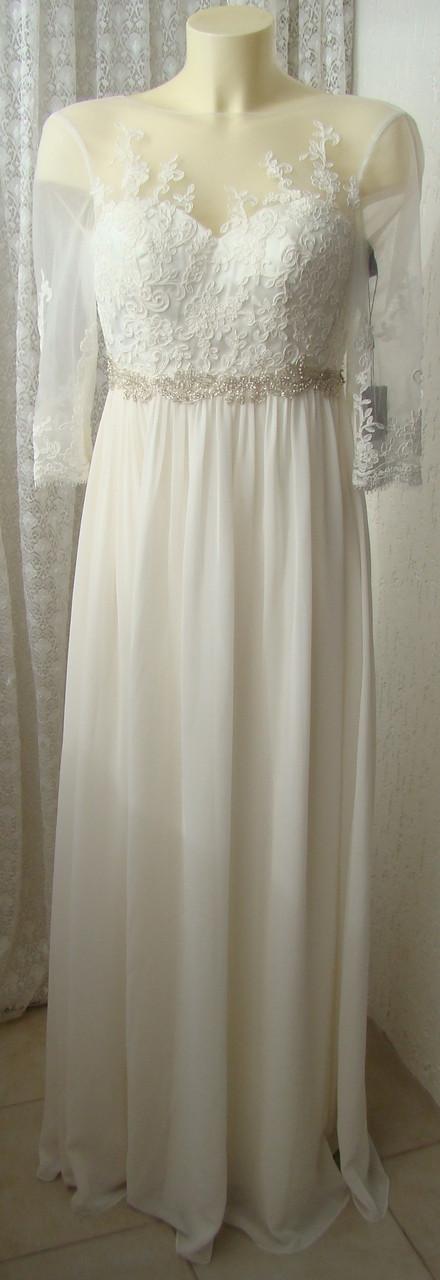 Платье женское великолепное шикарное свадебное вечернее бренд Unique  р.40-42 6028, фото 1