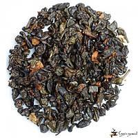 Зеленый ароматизированный чай Teahouse Земляника со сливками