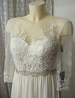 Платье женское великолепное шикарное свадебное вечернее бренд Unique  р.40-42 6028 2