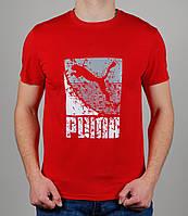 Футболка мужская Puma 1497 Красная