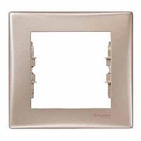 Рамка Schneider-Electric Sedna 1-пост титан SDN5800168