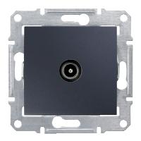 Розетка Schneider-Electric Sedna TV коннектор оконечный графит. SDN3201670
