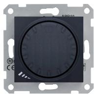 Диммер Schneider-Electric Sedna поворотно-нажимной 1000W графит. SDN2200970