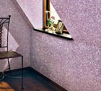 Декорирование стен шпаклевкой