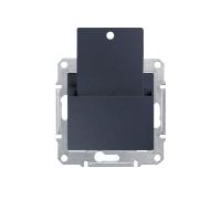 Выключатель Schneider-Electric Sedna карточный графит. SDN1900170