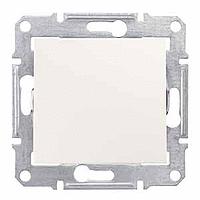 Выключатель Schneider-Electric Sedna 1-клавишный IP44 слоновая кость. SDN0100323