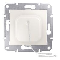 Выключатель Schneider-Electric Sedna Кнопка с шнурком слоновая кость. SDN1200123