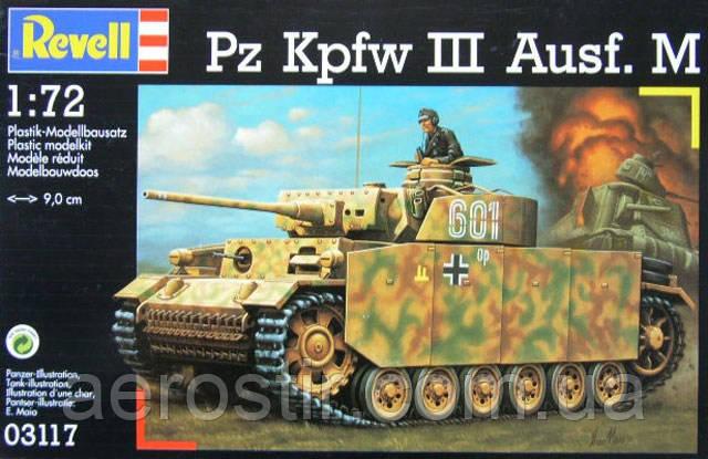 Pz.Kpfw III Ausf.M       1\72     Revell 03117