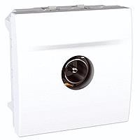 Розетка Schneider-Electric Unica TV одинарна білий. MGU3.462.18