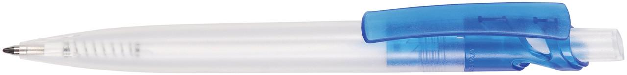 Ручка пластиковая VIVA PENS Maxx Cristal прозрачно-синяя