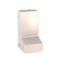 Адаптер Schneider-Electric Unica для кабеля 1-модуль слоновая кость. MGU3.860.25