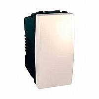 Переключатель Schneider-Electric Unica 1-клавишный проход. 16А слоновая кость. MGU3.163.25