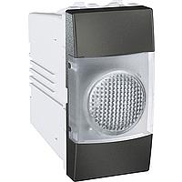 Индикатор Schneider-Electric Unica прозрачный/графит. MGU3.775.12T