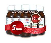 Биогель для педикюра и маникюра, гель на фруктовых кислотах, кислотный педикюр, Dermapharms UK, 80 мл 5шт
