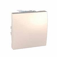 Выключатель Schneider-Electric Unica кнопка слоновая кость MGU3.206.25