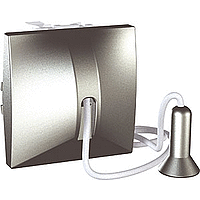 Вимикач Schneider-Electric Unica кнопка з шнурком алюміній. MGU3.226.30