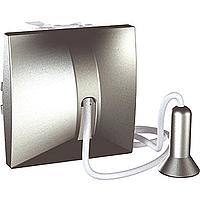 Выключатель Schneider-Electric Unica кнопка с шнурком алюминий. MGU3.226.30
