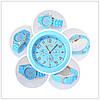 Женские наручные силиконовые часы Geneva light blue, фото 6