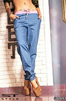 Стильные штаны джинс