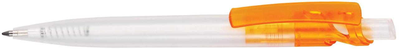 Ручка пластиковая VIVA PENS Maxx Cristal прозрачно-оранжевая