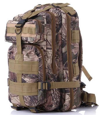 Надежный тактический рюкзак 26 л. Traum 7030-07 камуфляж