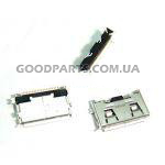 Коннектор зарядки для Samsung F110, F480, F490, F700, G600, J700, L170, L760, U800, U900 (Оригинал)