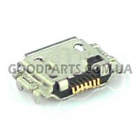 Коннектор зарядки для Samsung S8300, N7000, S5830, S5620, C3530, S8000 high copy