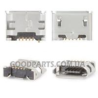Коннектор зарядки универсальный для Fly DS104D, DS106D, DS107D, DS124, E158 (Оригинал)