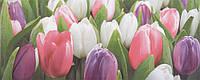 Плитка Атем Ялта настенная облицовочная Atem Yalta Tulip Mini PN 200х500 розовый
