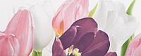 Плитка Атем Ялта настенная облицовочная Atem Yalta Tulip 1 PN 200х500 розовый